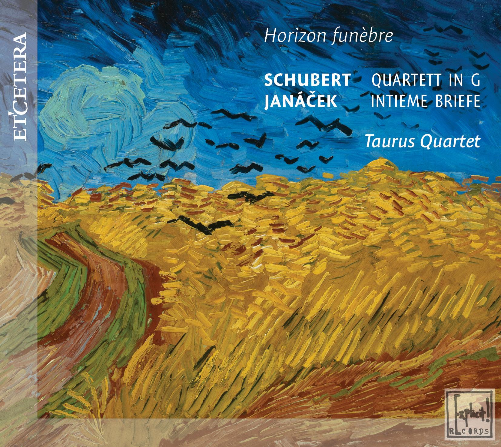 Eerste CD van Taurus Quartet